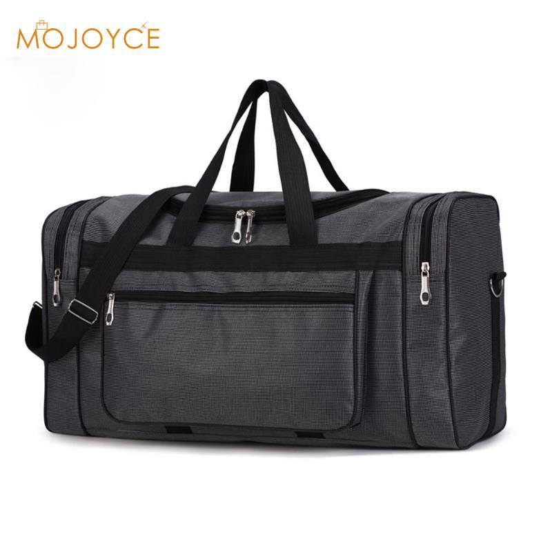 Large Capacity Fashion Travel Bag For Man Leisure Travel Fitness Handbag Large Capacity Nylon Portable Travel Bag Dropshipping
