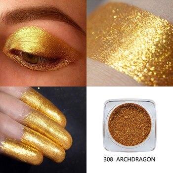 Phoera Υγρή σκιά ματιών με glitter.
