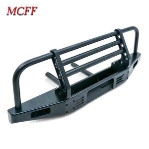 Image 3 - Universal Metal Front Anti collision Bumper For 1/10 RC Crawler TRX4 Defender Bronco Axial Scx10 90046 90047