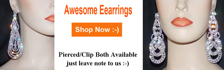 luxury earrings 750