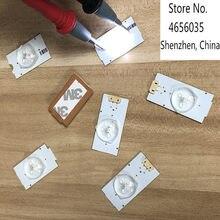 30 peças/lote 100% novo de boa qualidade Universal SMD Contas de Luz Com Lens Fliter Óptico para TV LED Reparação 3v