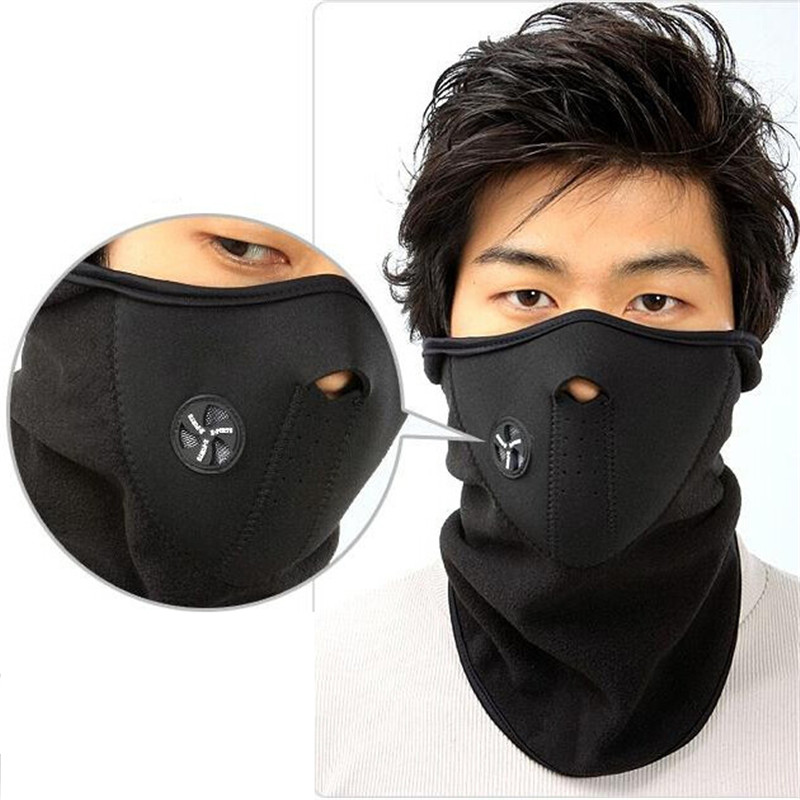 Best Choice Products Winter Thermal Neck Warmer Fleece Bicycle Windproof Face Mask Outdoor Sport Masks Ski Snowboard Cycling Accessories AC0001