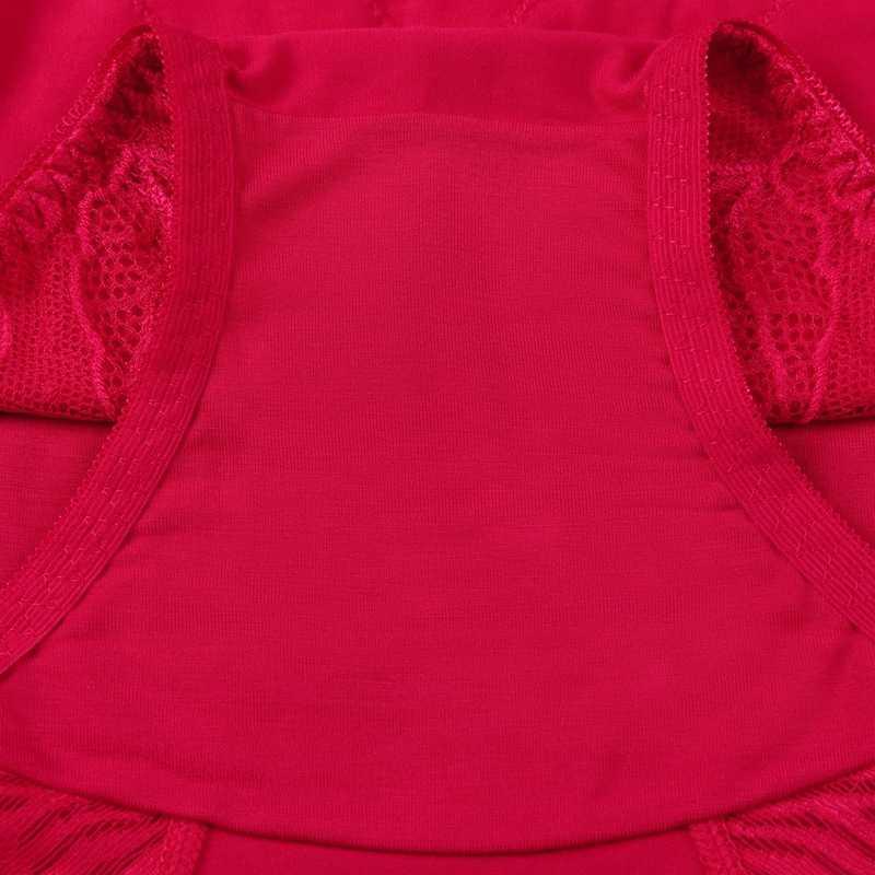 Ukuran Besar Pinggang Tinggi Celana Dalam Wanita Pakaian Dalam Wanita Ukuran Besar Celana Plus Ukuran Bunga Seksi Renda Katun Modal Celana Dalam wanita