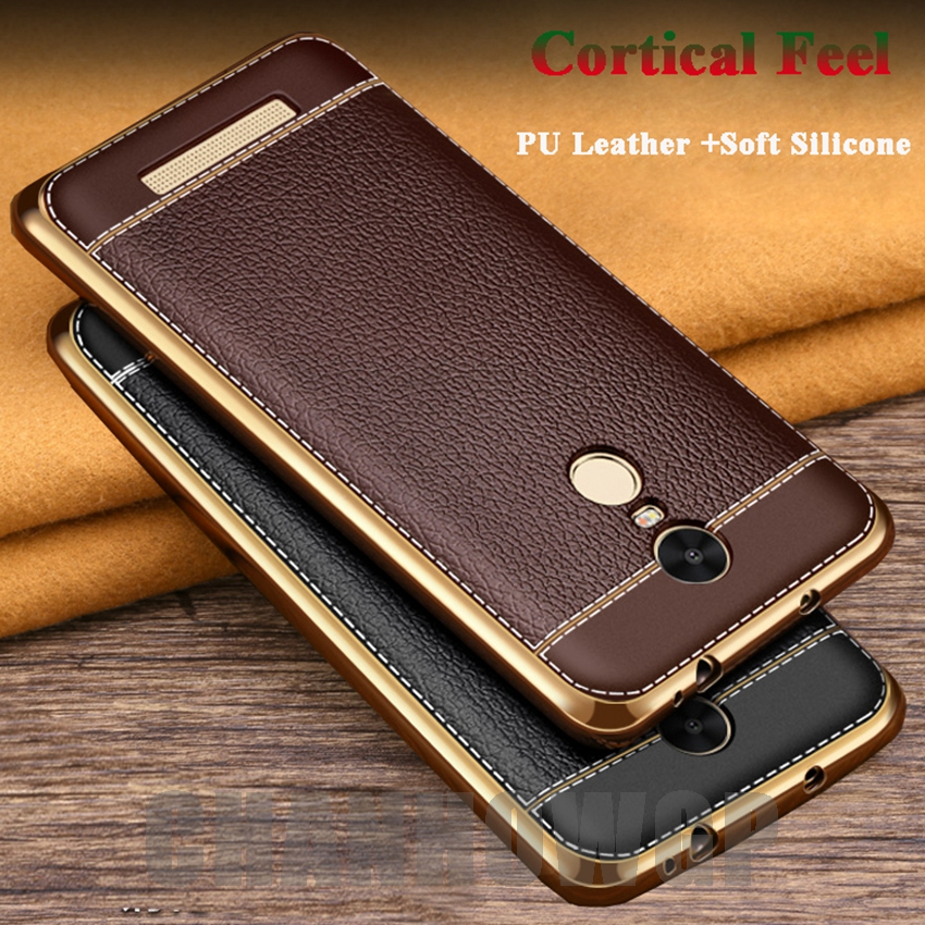 Luxury leather silicone case for xiaomi redmi 4x 4 pro 4a 3s redmi note 4x note 4 pro note 3 - Xiaomi redmi note 4 case ...