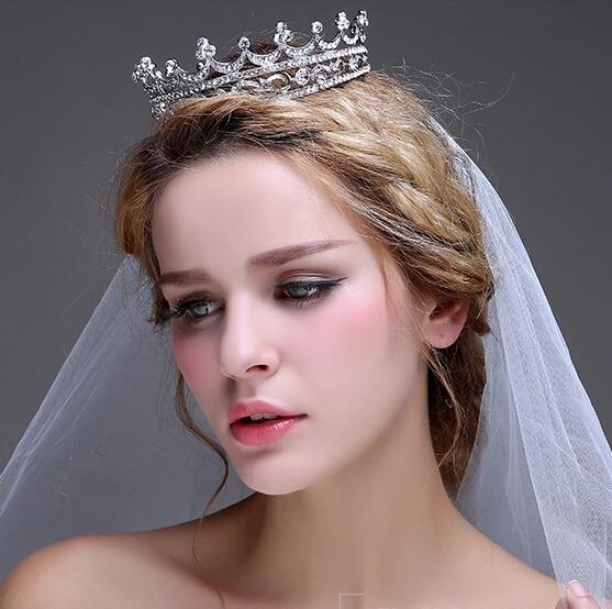 HG151 elegant bridal jewelry vintage bride headdress tiara marriage alloy Crown wedding accessories wholesale
