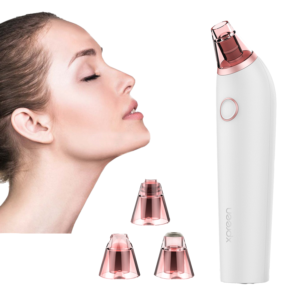 XPREEN Electric Blackhead Remover Suction Pore Vacuum Cleaner Facial Blackhead Removal Tool Comedo Remover Blackhead Extractor original package electric facial pore cleanser blackhead suction acne remover removal 2 in 1 facial steamer spray moisturizer