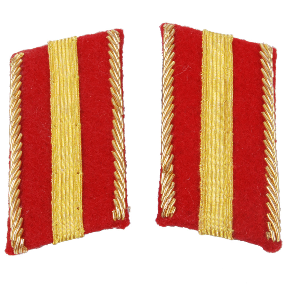WWII IMPERIAL JAPANESE ARMY WARRANT OFFICER COLLAR TABS -35391
