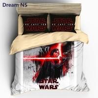 Dream NS Star Wars Bedding Set Movie Series Printed Duvet Cover Lightsaber Bedclothes Comfortable Bedlinens AU