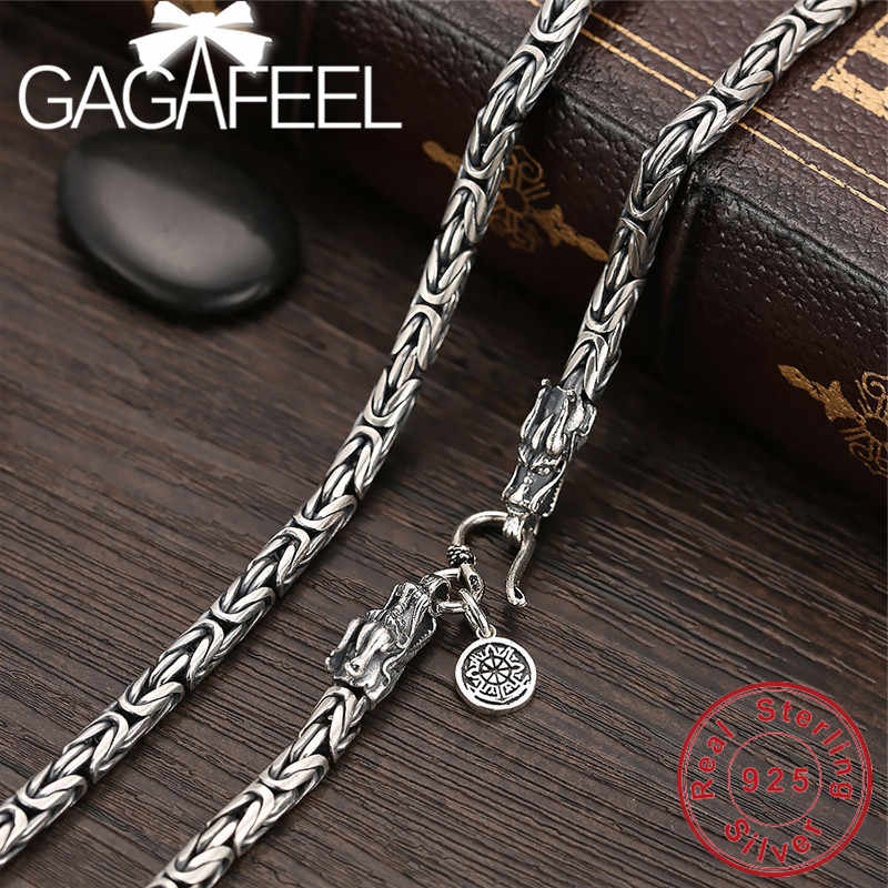 925 Sterling Silver Chain Man Necklace