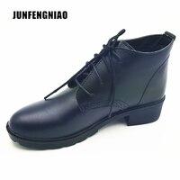 JUNFENGNIAO Damesschoenen Lace-Up Oxford Schoenen Platform Zapatos Hombre Chaussure Homme Klimplanten Dames Schoenen Flats 2017. DNF6251