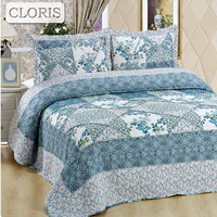 CLORIS Hipster Plaid Bedding Blanket Queen Size Duvet Cover Bed Cover Home Queen Size Flowers Vintage Pillowcases Duvet Cover