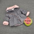 Bebê meninas e meninos outono e primavera Moletom Com Capuz jaqueta de crianças Linda jaqueta de 66-120 cm de altura