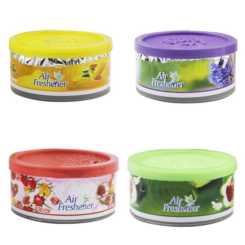 20PCS Car Auto Decor Fruit Flower Indoor Home Bathroom Solid Ornament Decor Fragrance Diffuser Scent Deodorizing Air Freshener