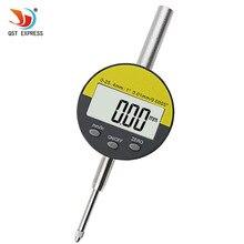 """0,01 мм/0,000"""" диапазон 0-25,4 мм/1"""" цифровой циферблат индикатор прецизионный инструмент QST25.4"""