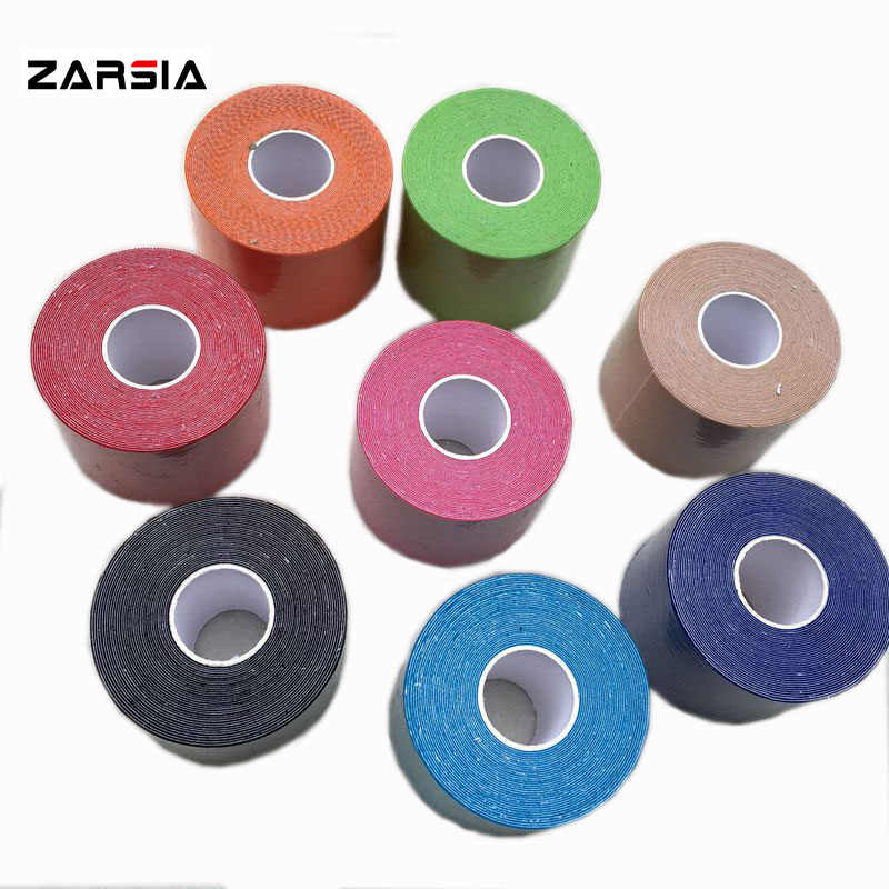 5cm x 5m Muscle Tape  Sports Tape Kinesiology Tape Cotton Elastic Adhesive Muscle Bandage Care Physio Strain Injury Support