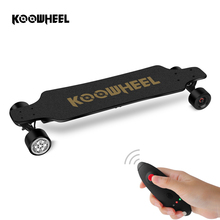KOOWHEEL 2nd Generation Kooboard Dual Motor Electric Moterized Longboard 4 Wheels Electric Skateboards