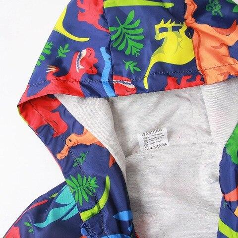 meninos blusao dinossauro dos desenhos animados outono