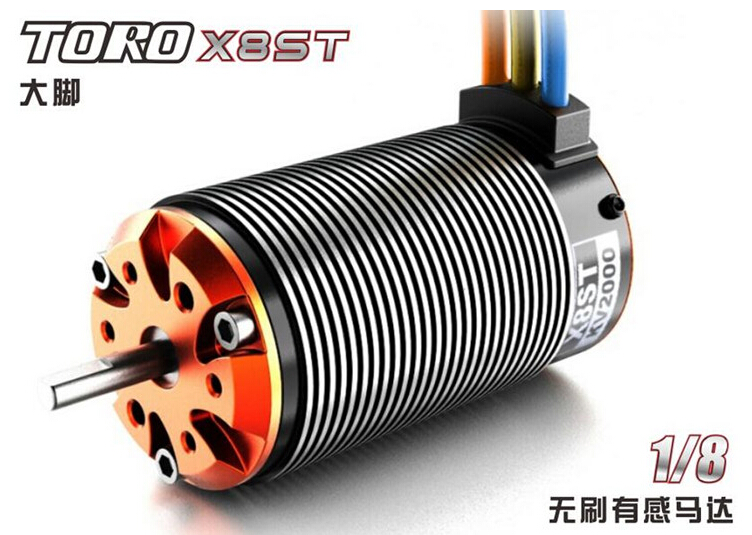 SKYRC TORO X8S X8ST brushless motor for 1/8 RC car off road buggy  HPI hobao Kyosho Traxxas esc brushless skyrc toro ts150a sensored motor esc for 1 8 scale rc truck buggy truggy