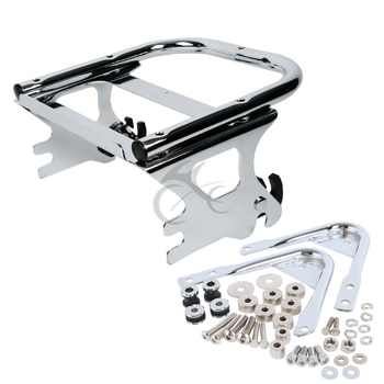 Two-up Tour Pack Luggage Rack &Docking Hardware Kit For Harley Touring Electra Street Glide Road King FLTR FLHX 97-08 - DISCOUNT ITEM  7% OFF All Category