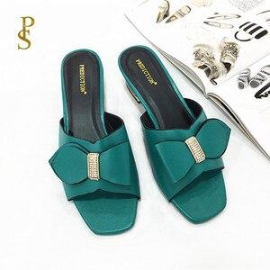 Image 4 - Anne terlik ayakkabı yay kadınlar için afrika tarzı ayakkabı