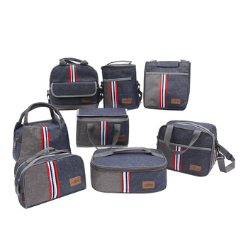Multiple Portable Oxford Thermal Lunch Bag Women Men Insulated Cooler Storage Food Bento Bag Hotselling Accessories Supplies oxford thermal lunch bag insulated cooler storage women kids food bento bag portable leisure accessories supply product stuff