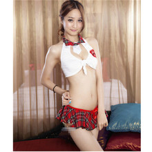 Pure girl sexy lingeries hot set school girl costume sexy student uniform Hot sale Top quality women sexy lingerie sleepwear