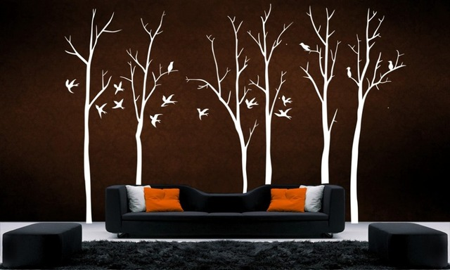 Stunning Tree Branch II Wall Art Decal Removable Vinyl Stickers Home ...