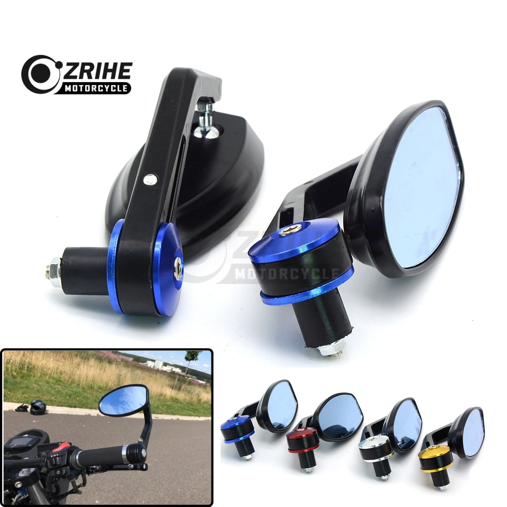 Fits 7/8 22mm Handlebar Ends Mirror Motorcycle Side Rearview Mirrors For Ducati 1000SS 916 916SPS 996 998 999 B S R Diavel