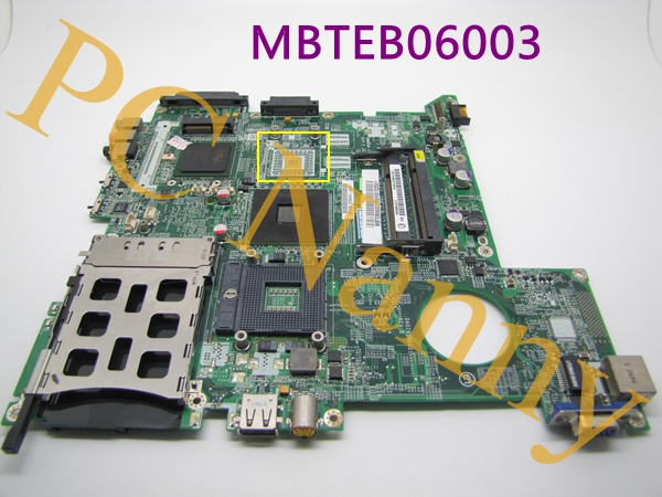 ФОТО Genuine For Acer Aspire 3680 3680-2682 System board Motherboard MBTEB06003 DA0ZR1MB6D1 DDR2 GMA 950