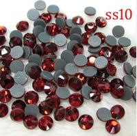 (2.7-2.9mm) SS10.big zak verpakking, 500 gross/72000 stks, crystal hot fix dmc machine gesneden steentjes hot fix motif ontwerp steentjes