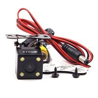 BYNCG WG1 wide Degree 4 LED Lamp Night Vision Car Parking Rear View Camera Reversing Backup Waterproof HD CCD Sensor