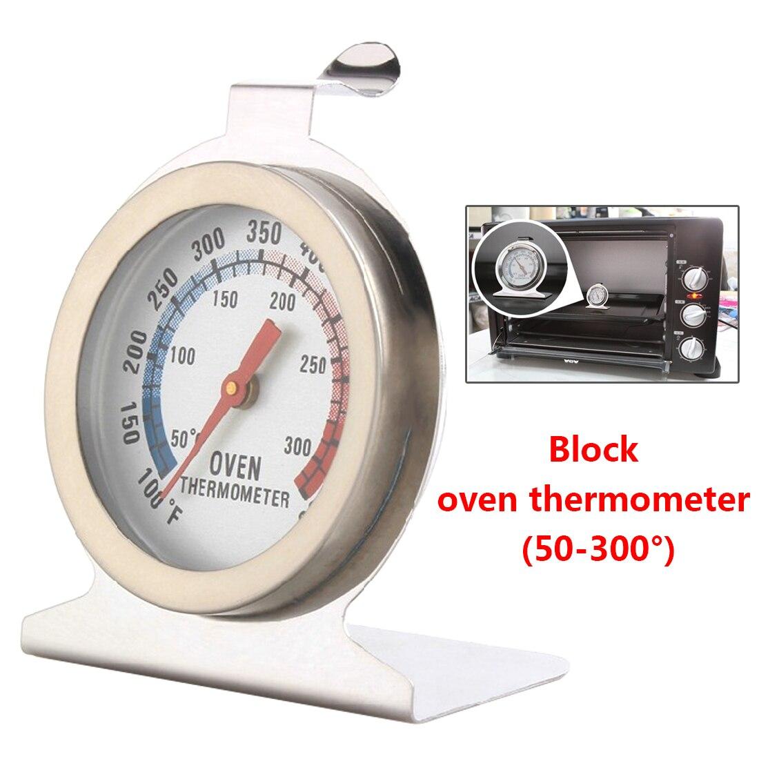0 Zu 300c Küche Lebensmittel Fleisch Temperatur Stand Up Dial Backofen Thermometer Edelstahl Manometer Gage Große Durchmesser Zifferblatt Backen