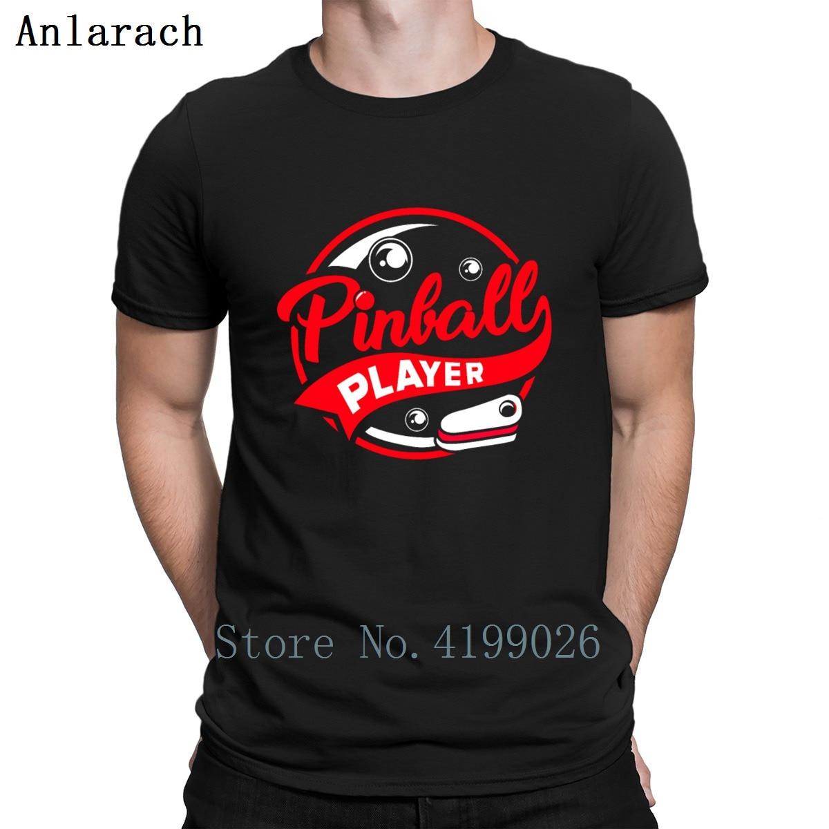 Pinball Machine Wizard Flipper Arcade Game T Shirt Formal S-XXXXXL Cotton Family Fashion Print Summer Style Sunlight Shirt