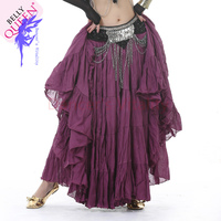NEW! cotton belly dance costumes sexy belly dance India style skirt for women belly dance Exercise skirt