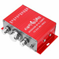 Hot Sale! Hi-Fi 12V Mini Auto Car Power Amplifier Stereo Audio Amplifier Support CD DVD MP3 Input for Motorcycle Boat Home