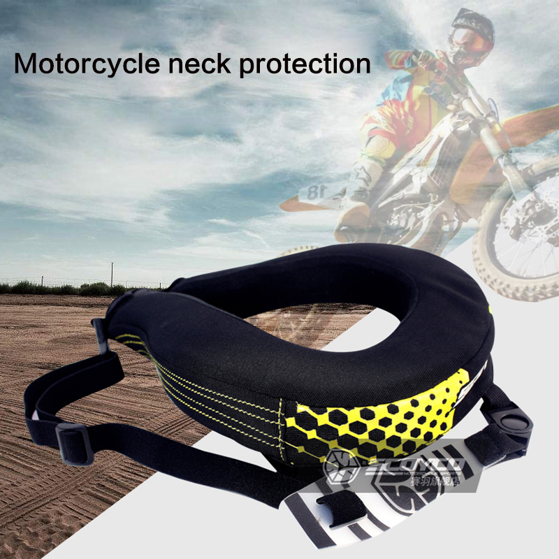 Scoyco Motorcycle Neck Guards Protection MTB Bike Long Distance Riding Racing Protective Brace Motocross Neck Protector