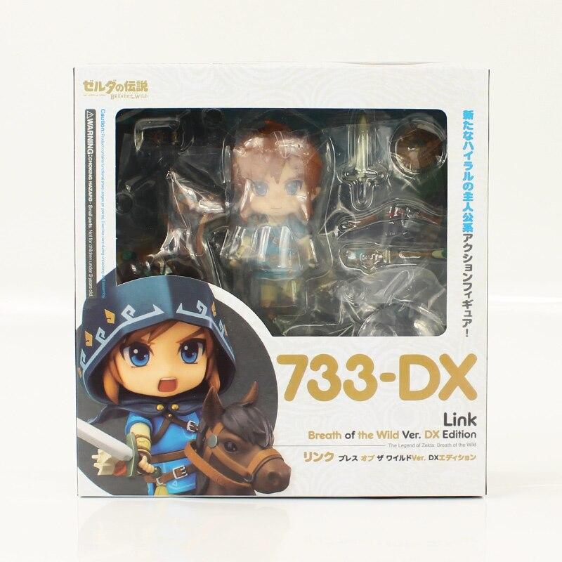 The Legend of Zelda Breath Wild Link 733-DX  Action Figure Statue Toys  In Box