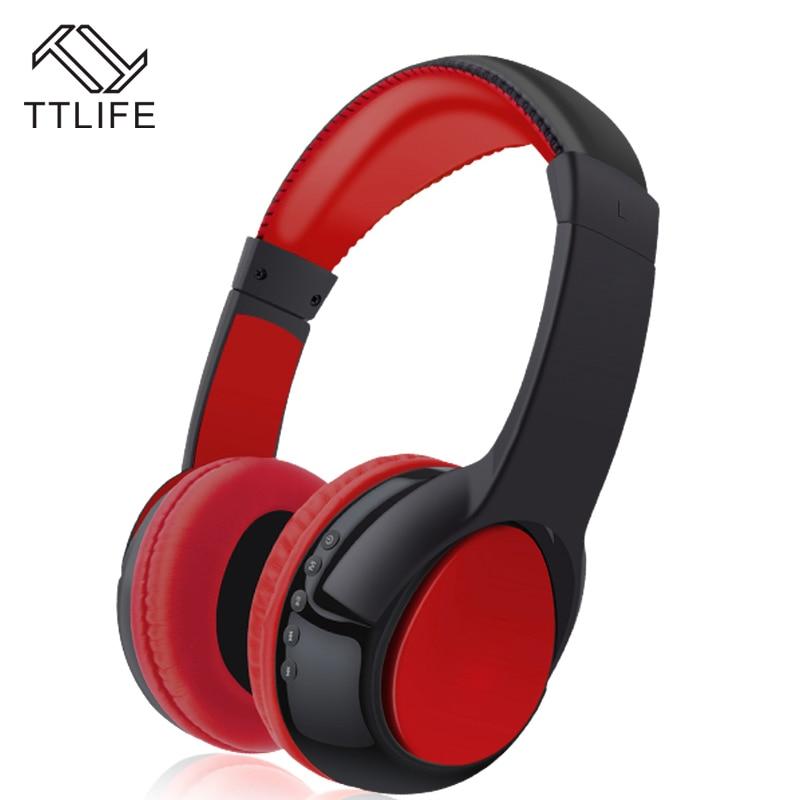 TTLIFE Brand S99 Music Headphones Hi-fi Bluetooth Headsets Wireless Headphones Stereo Earphone Gaming Headset for Mobile Phone