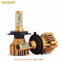 Auxmart SMD CREE Chips Car Headlight Kit H7 H4 H11 HB3 9005 HB4 9004 H13 80w