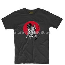 Predator Samurai In Front Of Asahi Mens & Womens Cosplay Tee T Shirt High quality Tops Tee