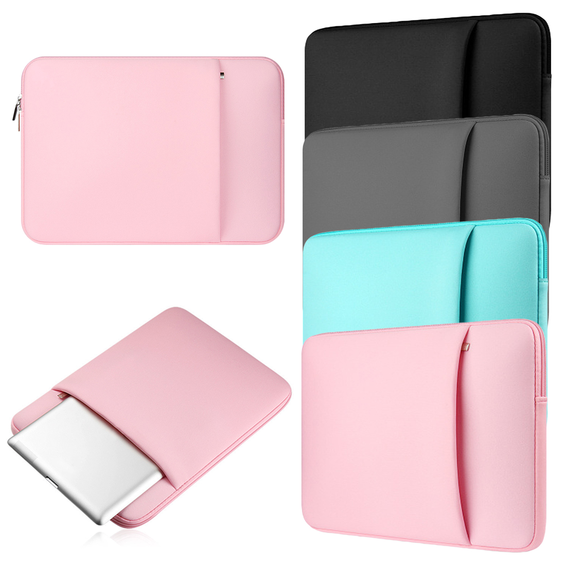 New Laptop Bags Sleeve Notebook Case For Lenovo Macbook Air 11 12 13 14 15 15.6 Inch Cover Retina Pro 13.3