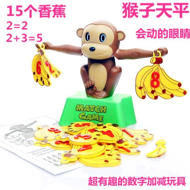 Plátano Plástico Del Cumpleaños Bebé Juguete De Mono Szvump Regalo yf7gvbY6