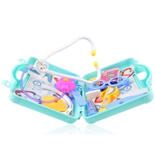 Children Pretend Play Toys Simulated Doctor Nurse Medical Toy Box Dentist