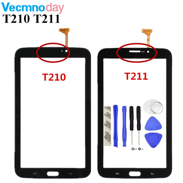 Vecmnoday For Samsung Galaxy Tab 3 7.0 SM-T210 SM-T211 T210 T211 Touch Screen Digitizer Glass Panel Sensor Replacement Part