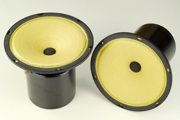 QUEENWAU F6 Full Range Speaker Driver HIFI speaker 8 inch FE8 excitation Full Range Speaker Driver vacuum tube amplifier speaker