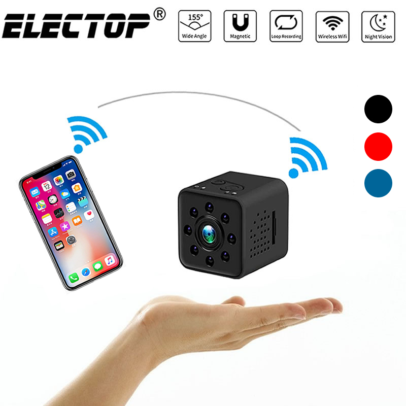 Original Mini Cam Câmera WI-FI SQ13 SQ23 SQ11 SQ12 Shell Sensor CMOS FULL HD 1080 P Waterproof Night Vision Gravador camcorder