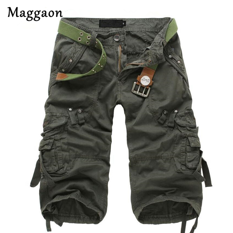 Hot Sale 2018 Summer Camouflage Loose Cargo   Shorts   Men Cool Camo Summer   Short   Pants Homme Cargo   Shorts   Dropshipping