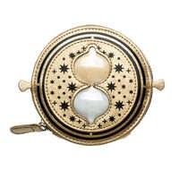 Portafoglio Oro Snitch Time-Turner Hogwarts Horcrux della borsa della Moneta 9308