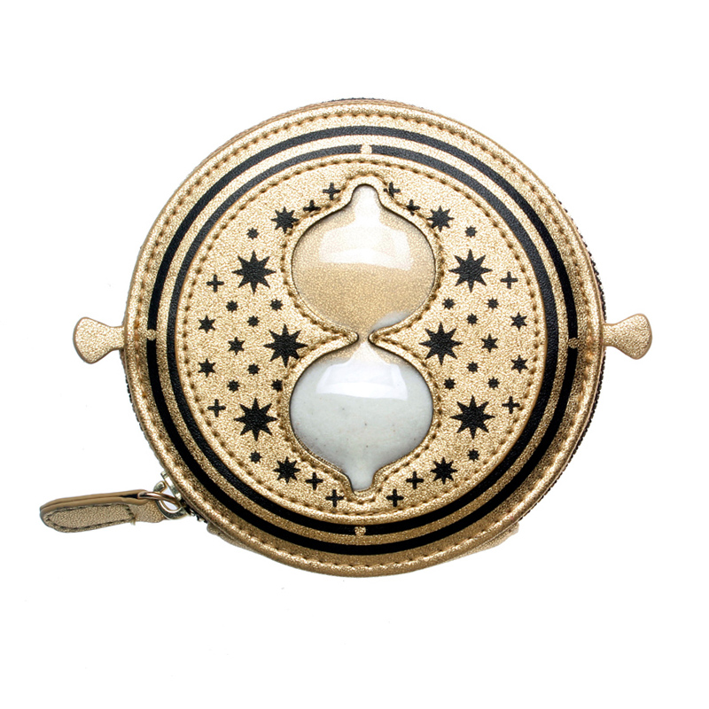Wallet Gold Snitch Time-Turner Hogwarts Horcrux Coin Purse 9308