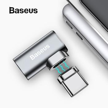 Baseus 86 W Từ USB C Adapter cho Macbook Pro 15 inch 6 Chân Khuỷu Tay USB Loại C Kết Nối Sạc dành cho Samsung USB Adapter